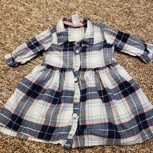 Girl 9 Month Flannel